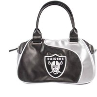 Oakland Raiders NFL Perfect Bowler Purse Womens Handbag