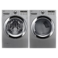 LG 4.0 cu. ft. Front-Load Washer & 7.3 cu. ft. Dryer Bundle - Appliances - Washers & Dryers - Washer and Dryer Sets - Washer and Dryer Bundles