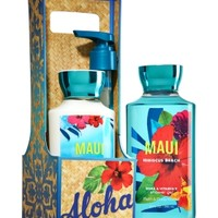 Lather & Lotion Gift Set Maui Hibiscus Beach