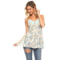 Sequin Lace Cami Top
