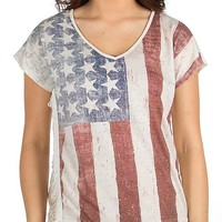 Living Doll Flag Top