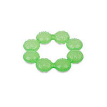 Nuby Round Ring Ice Gel Teether - Green
