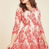 Symphonic Hip-Hop Lace Dress | Mod Retro Vintage Dresses | ModCloth.com