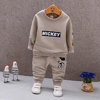2019 Spring Autumn Baby Boys Clothes T-shirt And Pants 2Pcs Cotton Girls Suits Children Clothing Sets Toddler Brand Tracksuits
