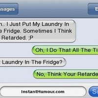 Funny Text: What I Think About You