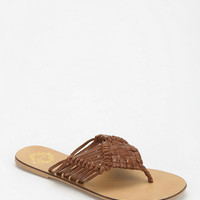 Ecote Woven Thong Sandal - Urban Outfitters