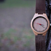 Christmas Gifts,Engraved Wood Watch, father gift, Groomsmen Gift, Father Gift, Mens watch, Anniversary Gift for men, Boyfriend Gift