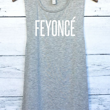 Feyonce Muscle Tank Top