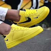 NIKE Air Force 1 Popular Women Men Sports Running Sneakers Shoes