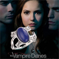 2016 New Hot !!! Fashion Fine Movies Jewelry Accessories The Vampire Diaries Cosplay Elena Gilbert Party Rings For Women R-487