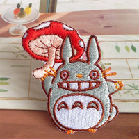 My Neighbor Totoro patch Embroidered patch Iron on patch Sew on patch Applique