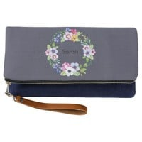 Personalized Bridesmaid Clutch Bag Gift wedding