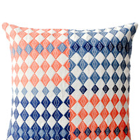 Mirrored Diamonds Pillow