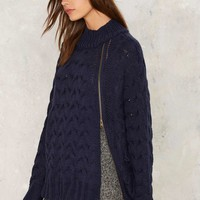 Aux Cable Knit Sweater