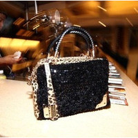 Stylish Fashion Lace One Shoulder Bags [6582037447]