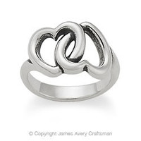 Linked Hearts Ring from James Avery