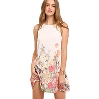 FIELD OF LILIES BABY DOLL DRESS