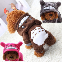 Soft Warm Cat Dog Clothes Pet Coat Winter Costume Fleece Puppy Jacket Hoodie Autumn Jumpsuit Clothing for Small Dogs XS-XXL 29