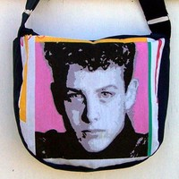 Joey Purse NKOTB Joe Zipper Handbag Shoulder Bag Adjustable