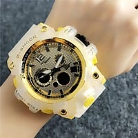 Yellow G-SHOCK CASIO Electronic Watch Womens Mens Sports Watch