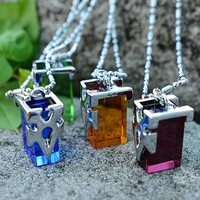 4 Style Sword Art Online SAO Kirito Yuki Asuna Crystal Necklace Pendant Chain Collection Transfer Crystal Cosplay Costume Charms