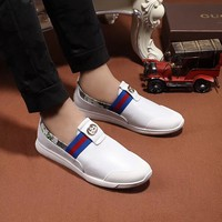 GUCCI Casual Loafers Men's 2018 Casual Shoes