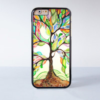 """Tree of life plastic phone case for iPhone 6 (4.7"""")  More case style can be selected"""