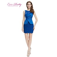 New Womens Fashion Sexy Cocktail  Party Dresses Ever Pretty HE05399 Sleeveless Empire Cocktail Dresses