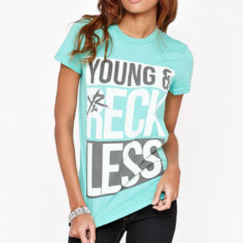 Young & Reckless Bars Crew Tee at PacSun.com