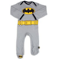 Batman Infant Costume Footed Coverall