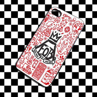 fall out boy poster art iPhone 4, iPhone 4S, iPhone 5, Samsung Galaxy S3, Samsung Galaxy S4 Case