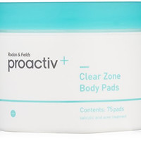 Proactiv Clear Zone Body Pads, 75 Count