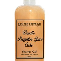 Vanilla Pumpkin Spice Cake Shower Gel