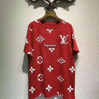 NEW 100% Authentic Louis Vuitton women t shirt ♀016
