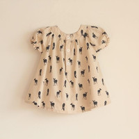 Deer Dress With Bow