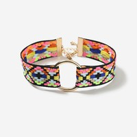 Bright Aztec Circle Choker Necklace - Jewelry - Bags & Accessories