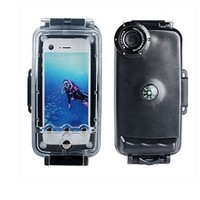 CrazyFire® Black Color 40m/130FT Waterproof Underwater Diving Photo Housing Case Cover Underwater Photo Video Camera Housing For iPhone 6 4.7 Inch