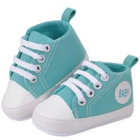 Cute Infant Toddler Newborn Shoes Baby Girls First Walkers Boy Sports Sneakers Soft Bottom Anti-slip Prewalkers