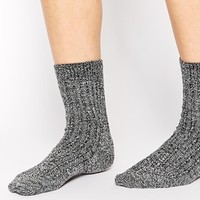 ASOS Mix Knit Ankle Socks at asos.com