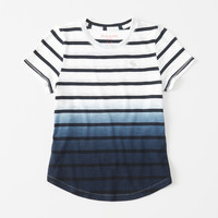 girls icon pattern tee | girls tops | Abercrombie.com