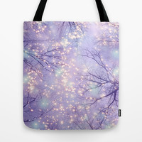Each Moment of the Year Has It's Own Beauty (Tree Silhouettes) Tote Bag by soaring anchor designs ⚓   Society6