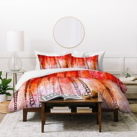 Sophia Buddenhagen Red Stain Duvet Cover