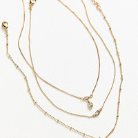 Luv Aj Hanging Stone Choker Necklace Set | Urban Outfitters