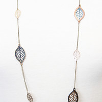 Fall Is Coming Necklace - Necklace