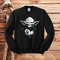 dj yoda star wars sweater unisex adults