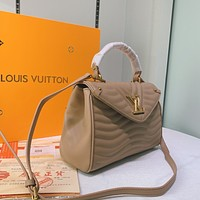 Louis Vuitton LV Newest Popular Women Leather Handbag Tote Crossbody Shoulder Bag Satchel