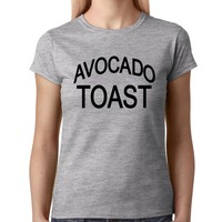 Avocado Toast Womens T-shirt