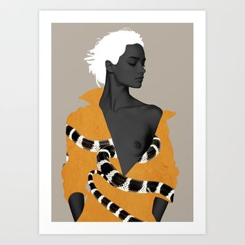 Beauty 2 Art Print by dada22