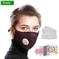 Anti Pollution PM2.5 Dust Respirator Washable Cotton Unisex Reusable Mouth Mask Mouth Muffle