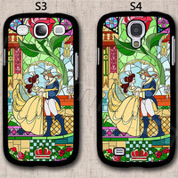 Beauty and Beast Samsung Galaxy S3 Case, Samsung Galaxy S4 Case, Hard Plastic Phone Cases, Please Choose Case Model